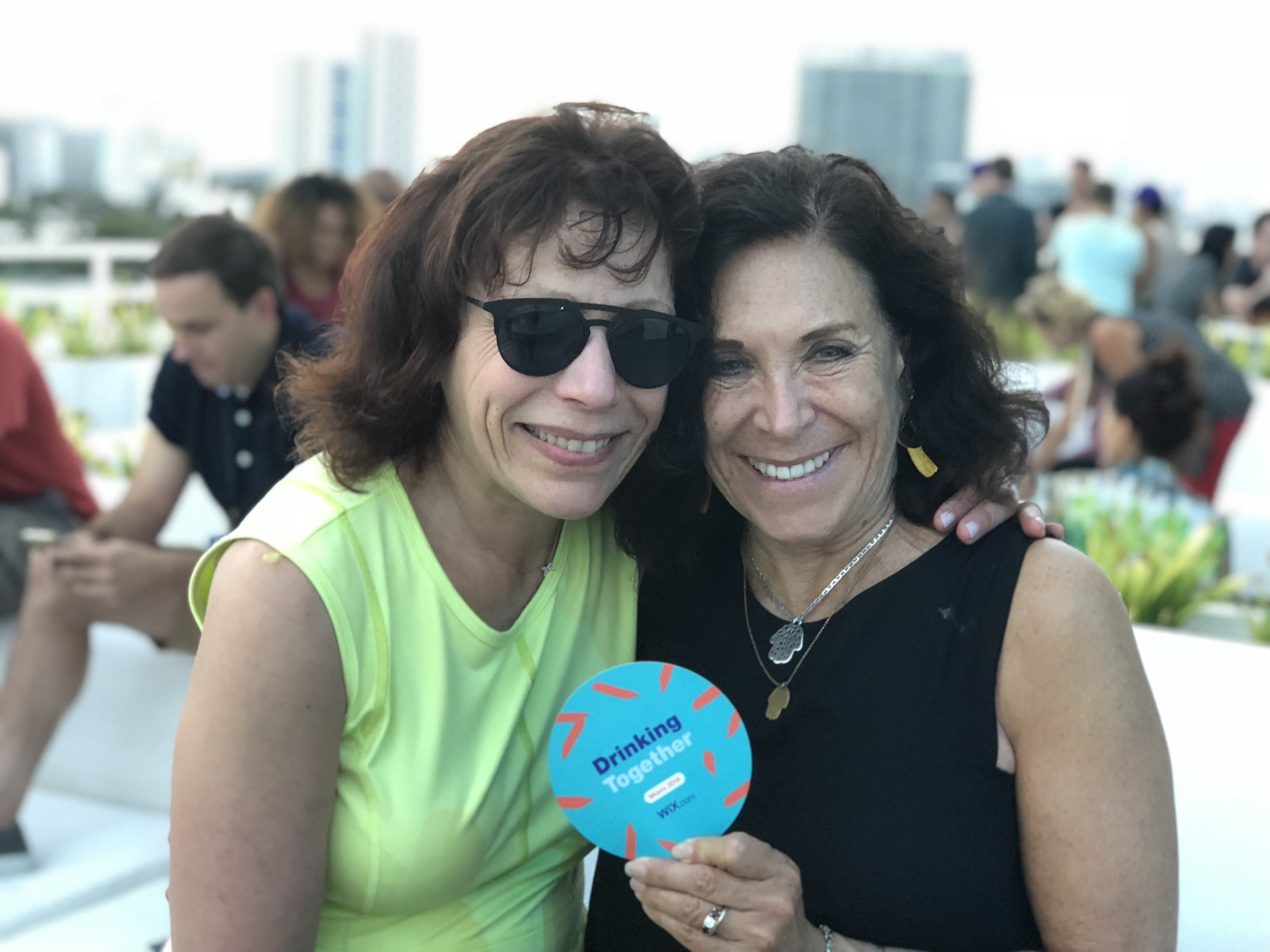 WixCon Miami 2018 Ilene & Dena