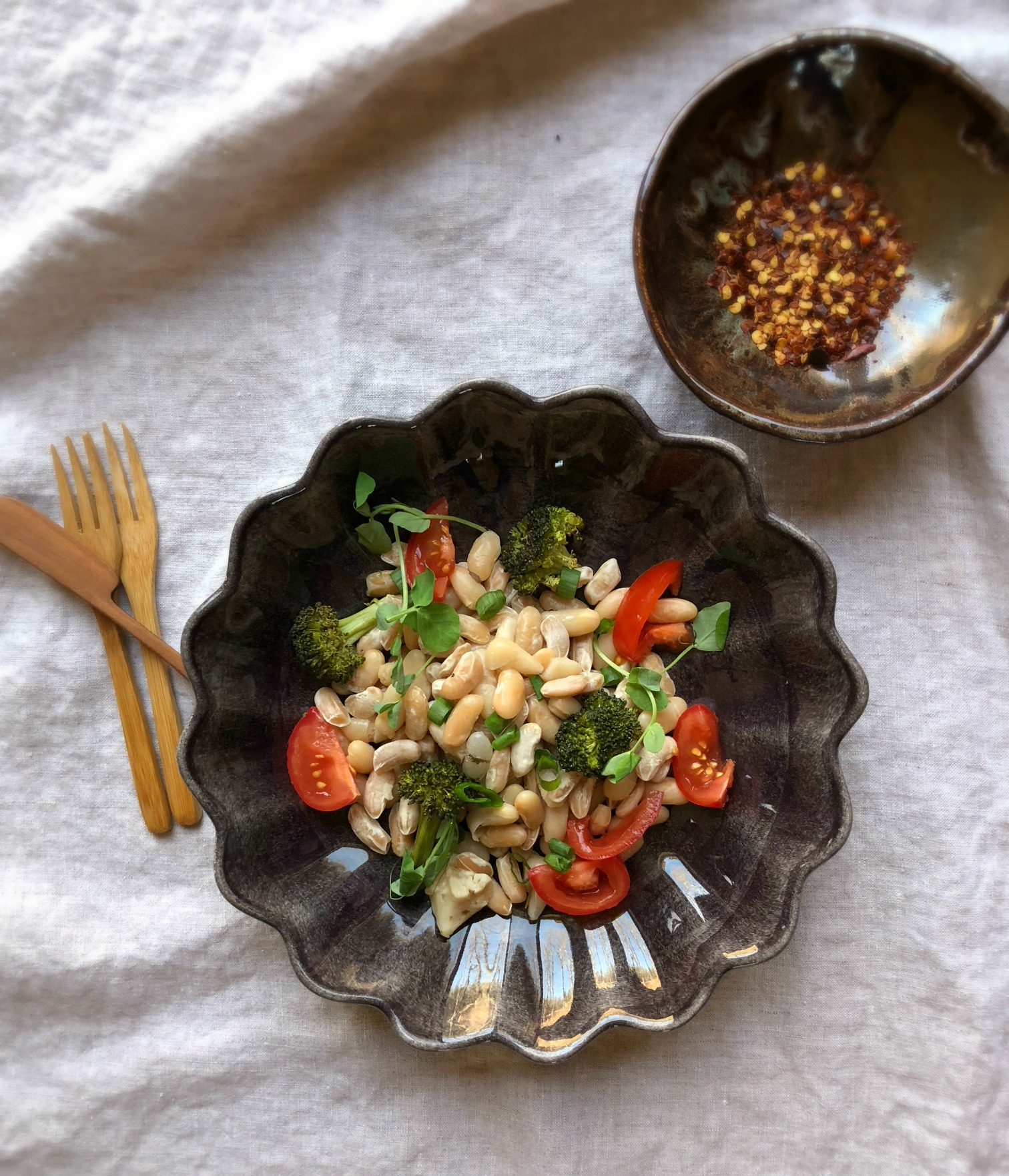 ©White Beans with Peppers by Dena T Bray.jpg