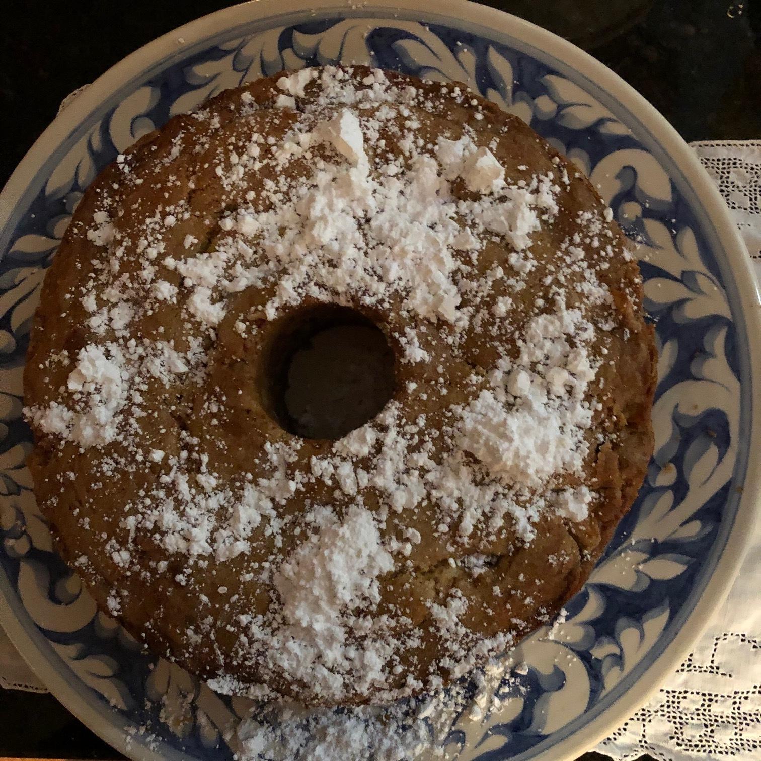 Amanda Hesser's Teddie's Apple Cake - Yield: 8 Servings