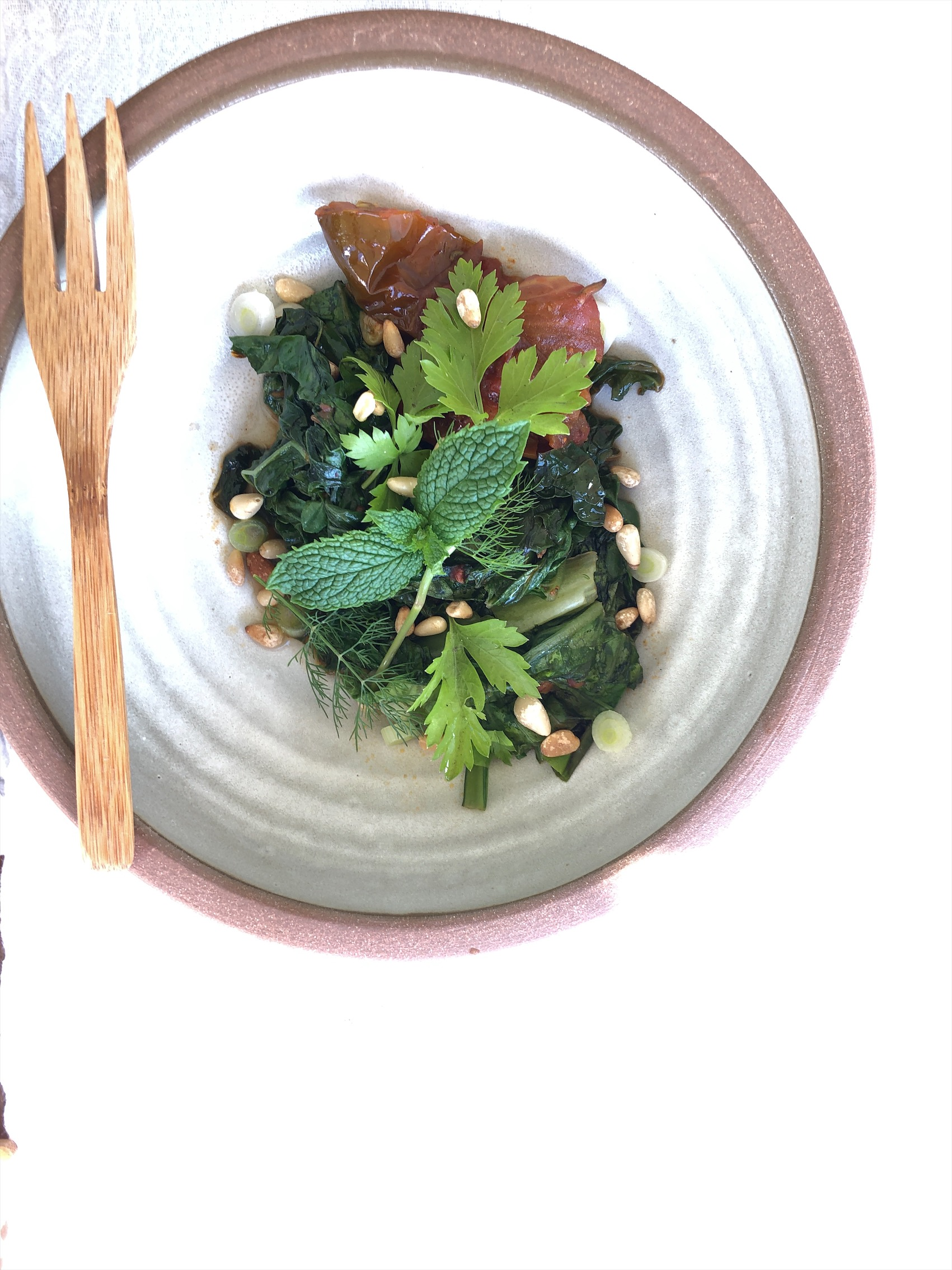 Wilted Summer Greens - About 6 Servings