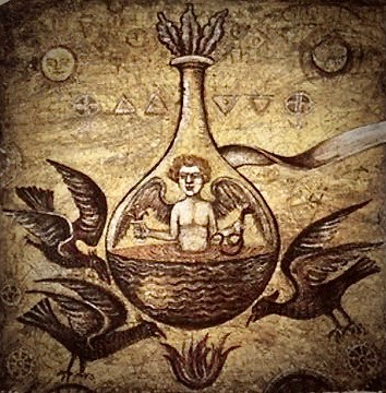 Ancient alchemical methods.