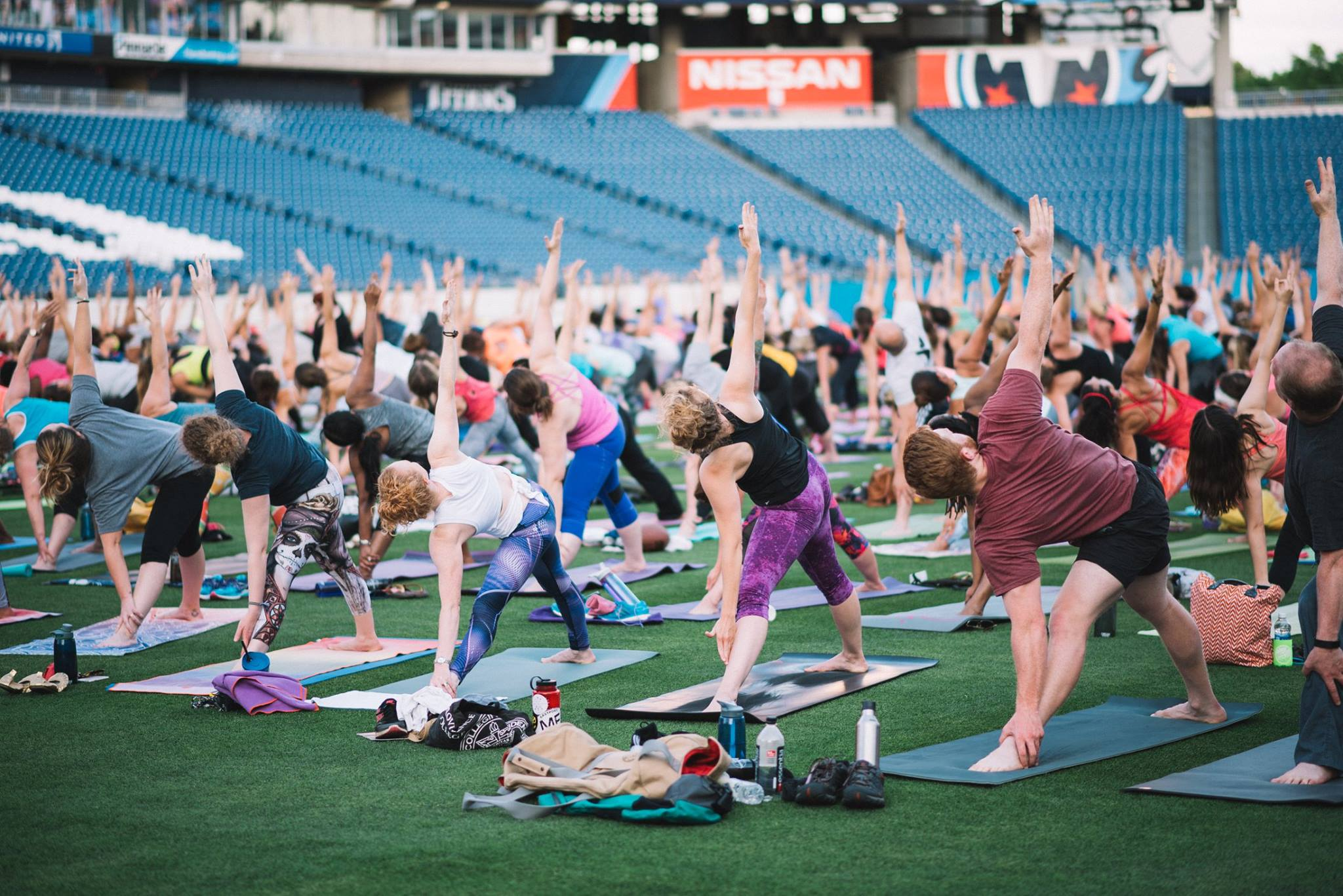 YOGA ON THE FIELD GIVEAWAY! -