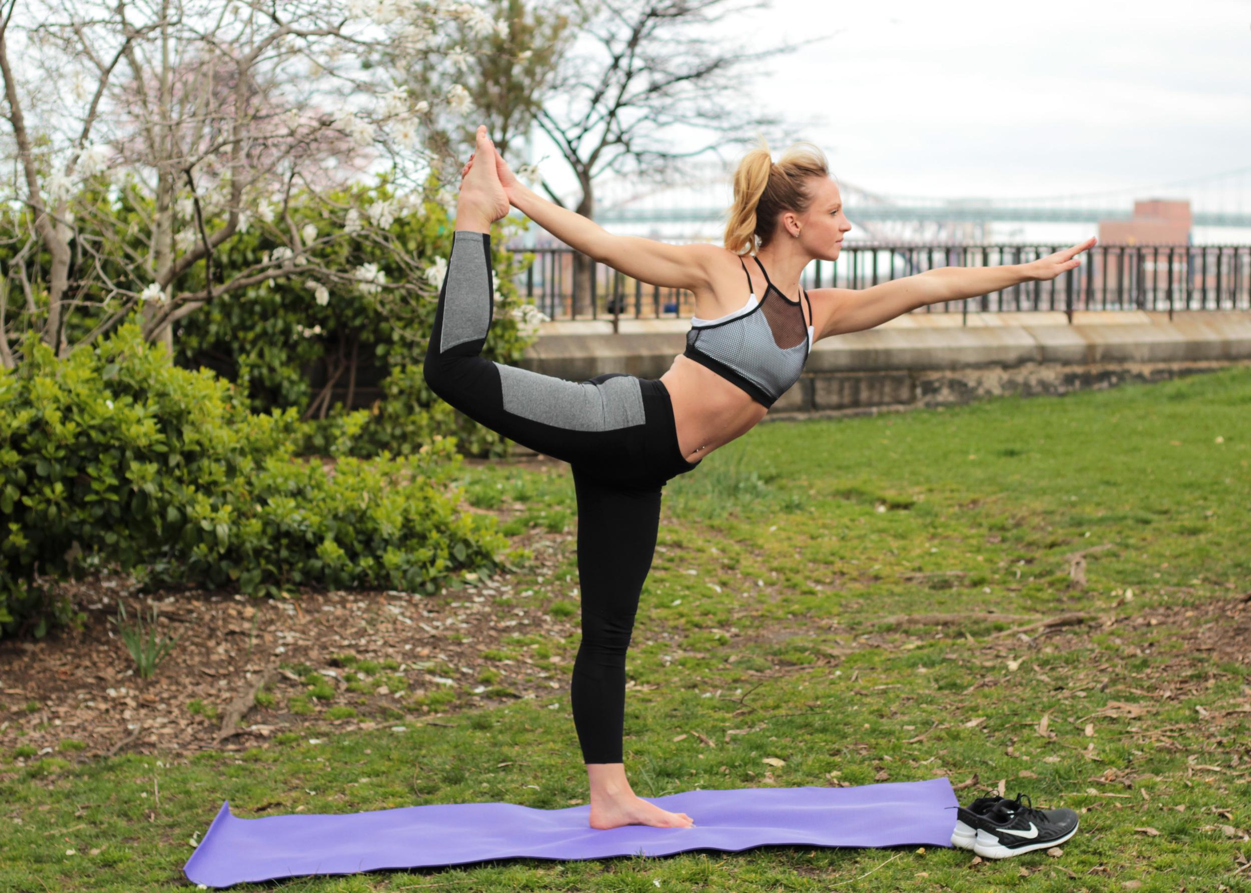 dancers pose yoga