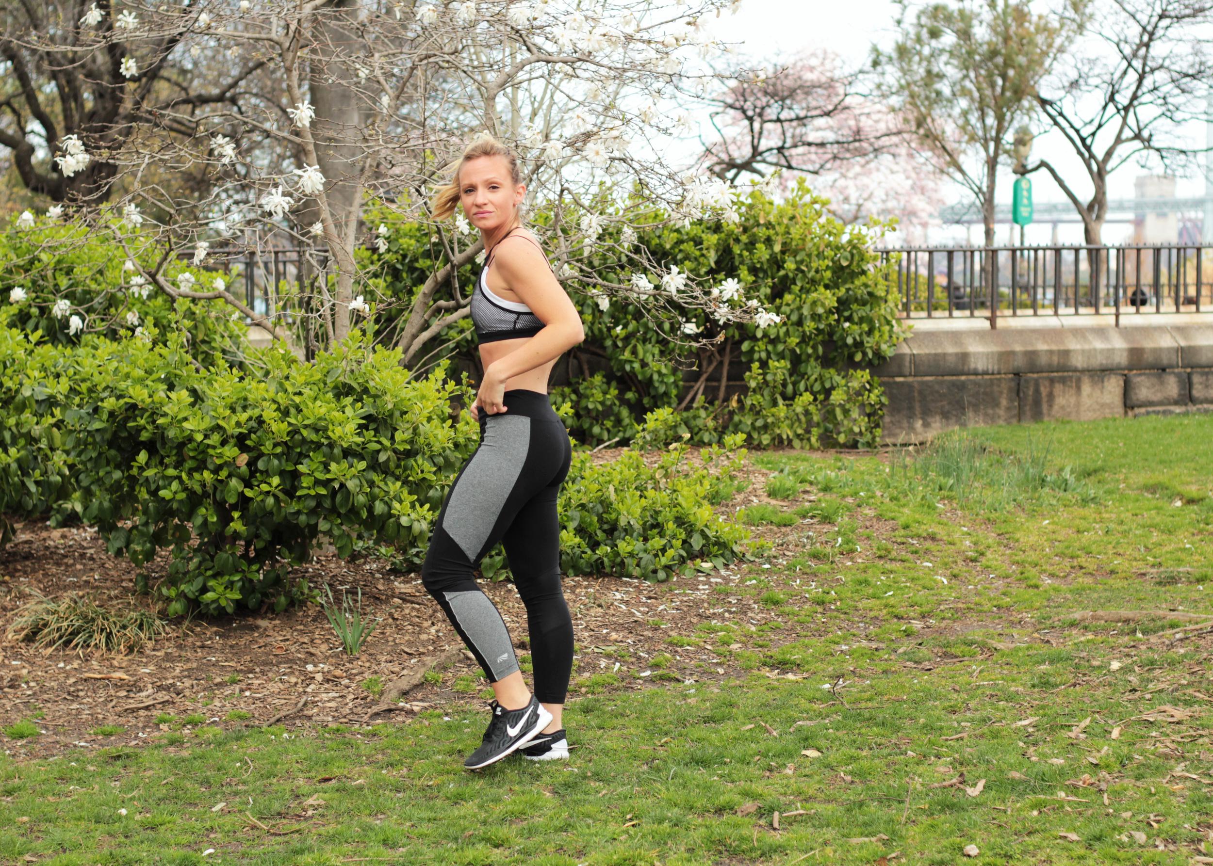 marika leggings jordan color block