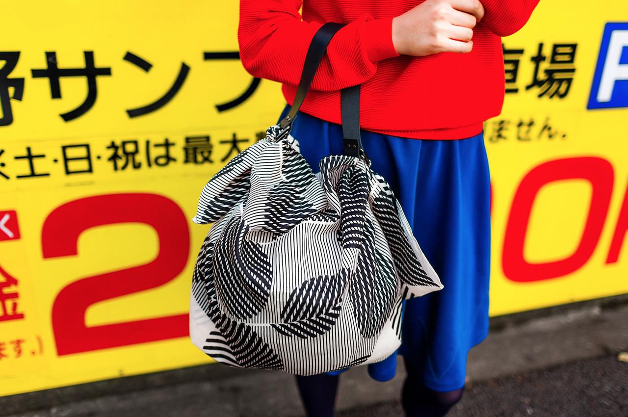 Link Collective Furoshiki bag. Image curtesy of Link Collective