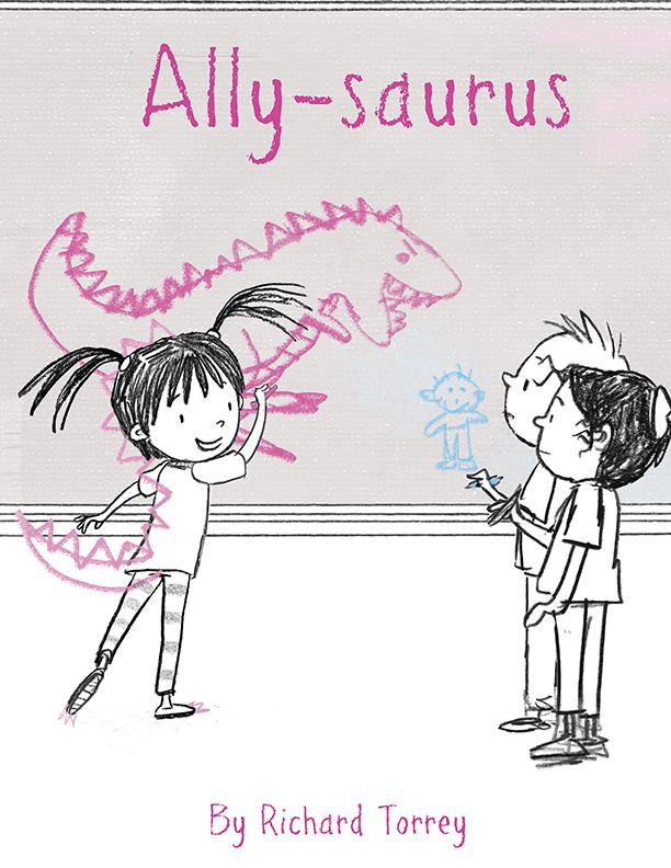 ALLY-SAURUS cover concept