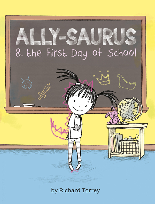 """Richard Torrey, author of """"Ally-Saurus and the First Day of School"""" and son of Islanders Hall of Famer, Bill Torrey, pens new children's books. Photo Credit: Sterling"""