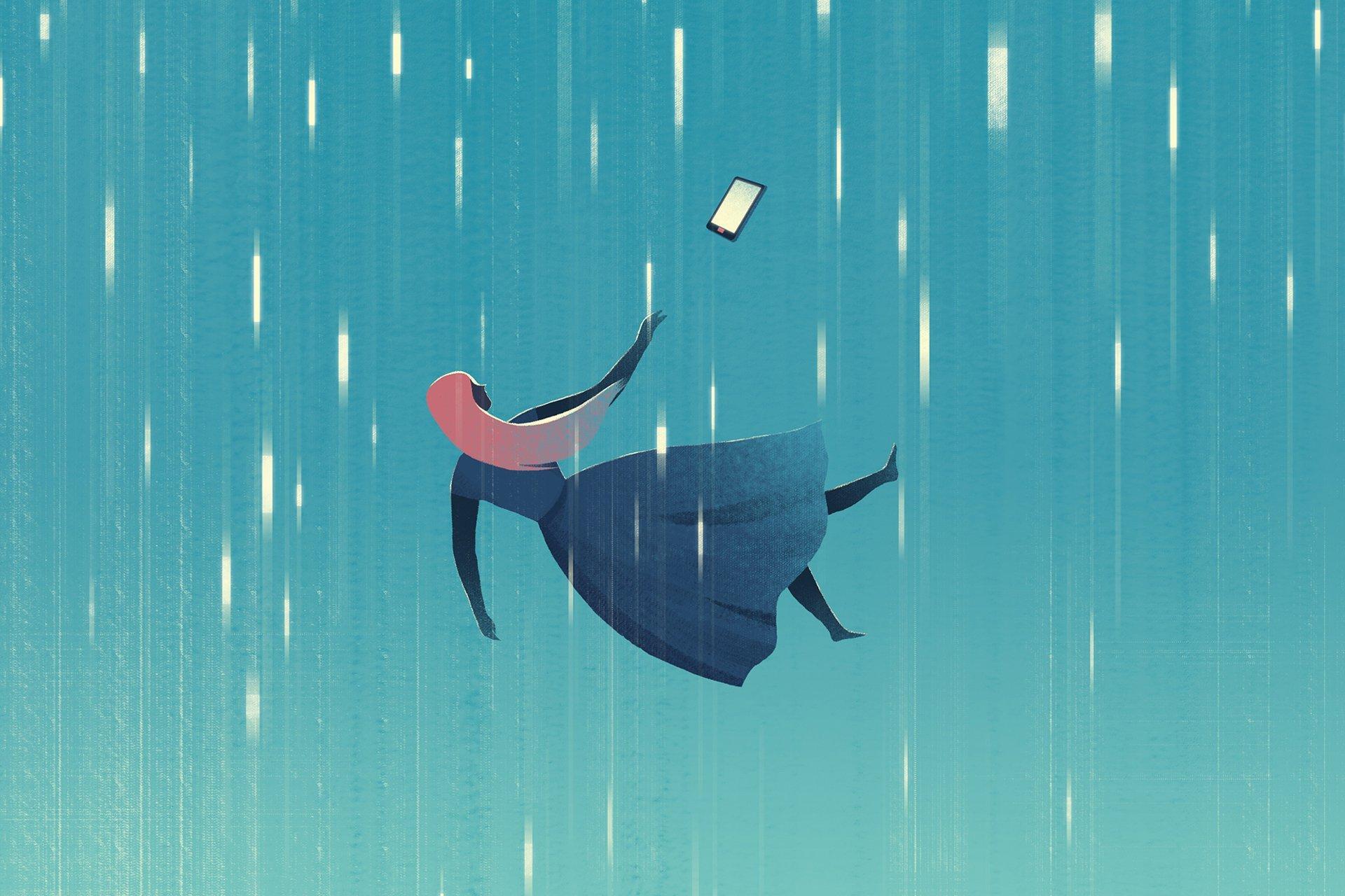 Illustration by Jasu Hu for The Atlantic
