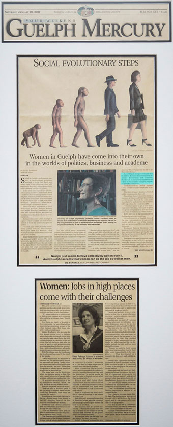 Women in Guelph have come into their own