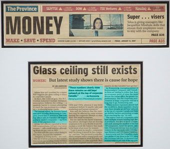 Glass Ceiling still exists