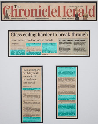 Glass ceiling harder to break through