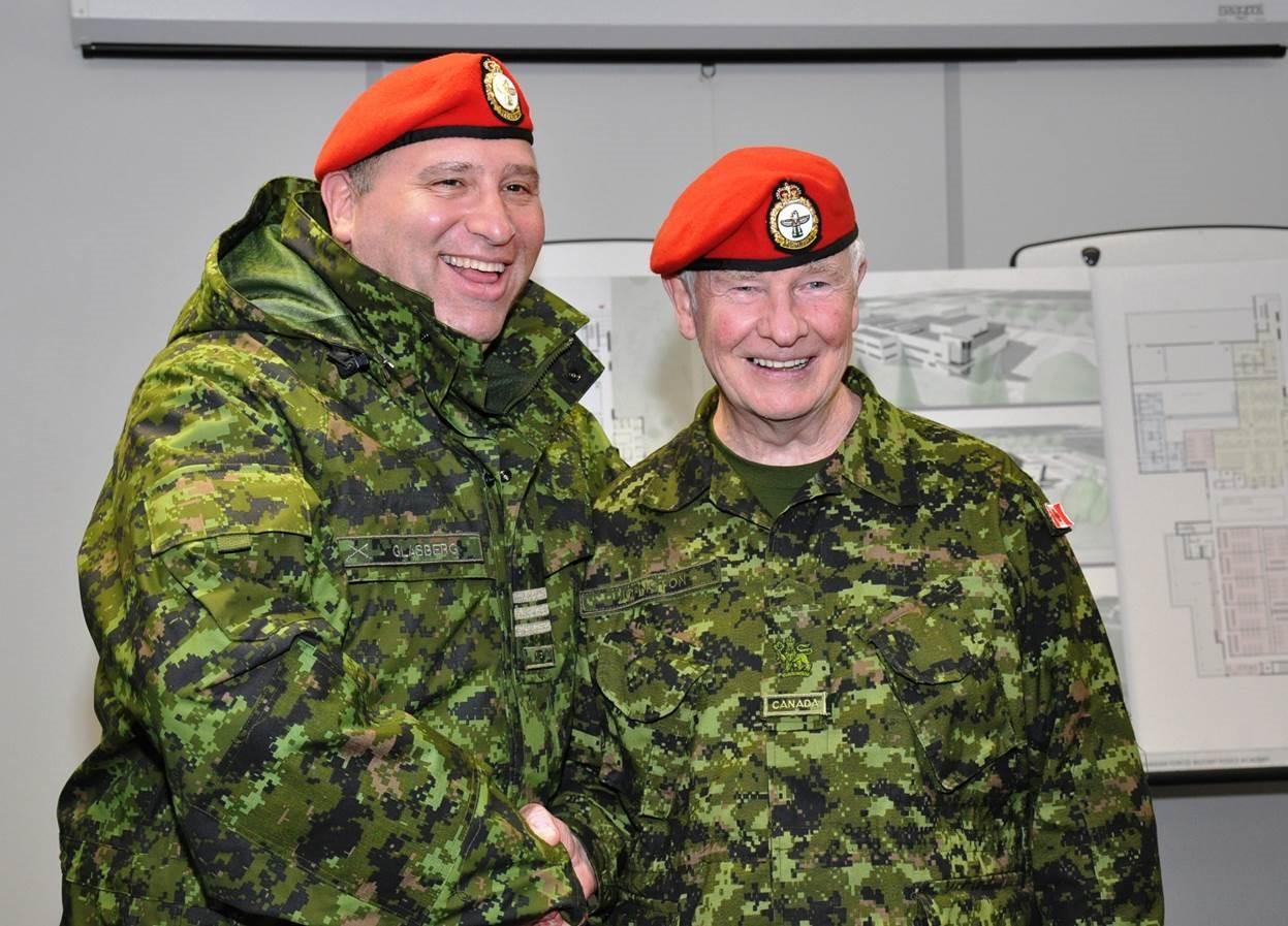 Rosenzweig Advisor, Neil Glasberg, with Governor General of Canada