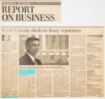 'Cool' Canada sheds its frosty reputation