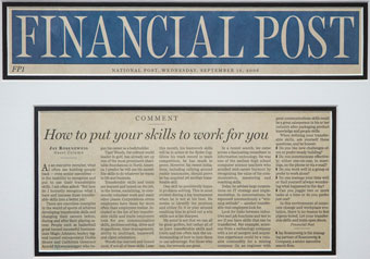 How to put your skills to work for you