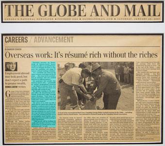 Overseas work: It's résumé rich without the riches