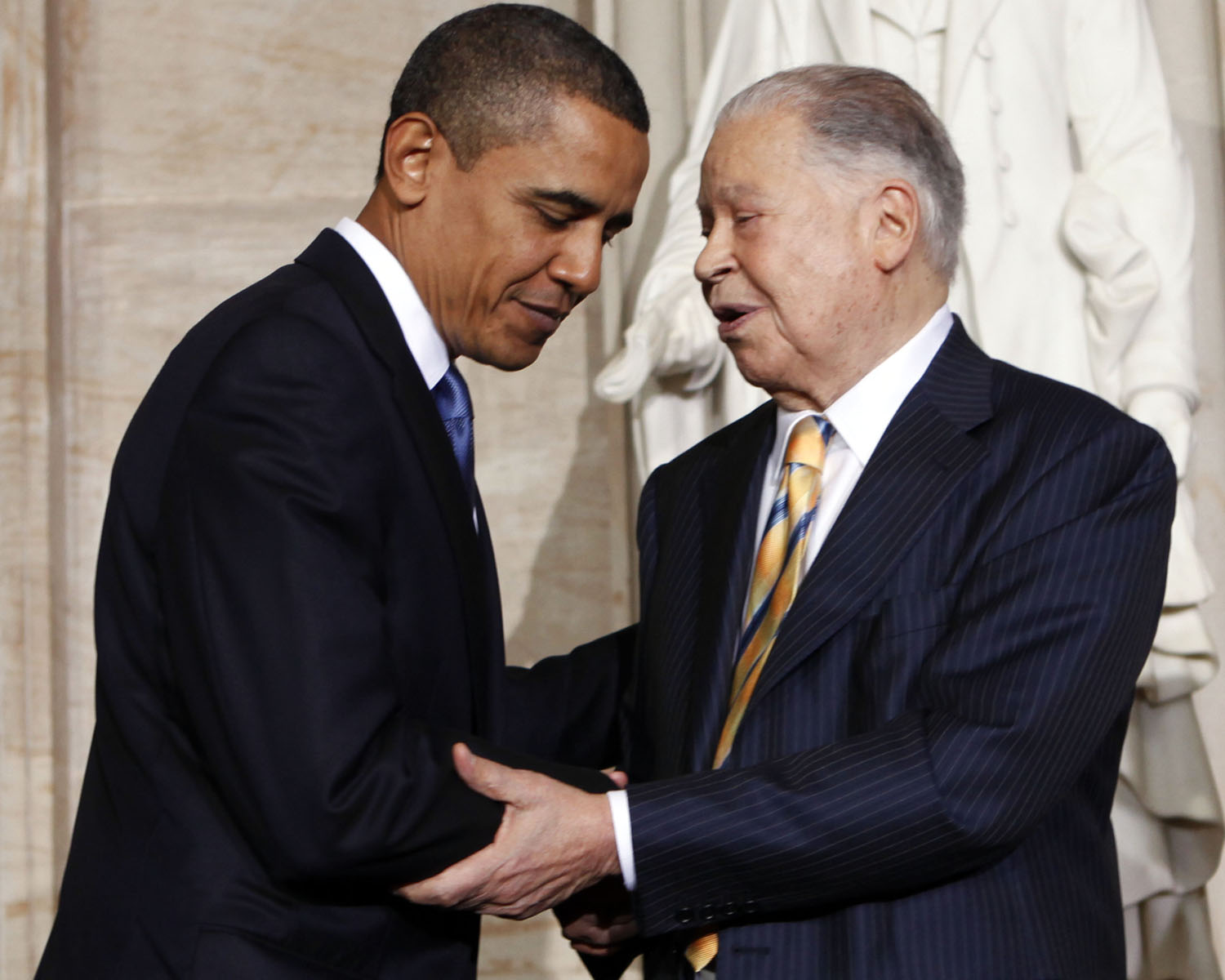 Barack Obama, Edward Brooke