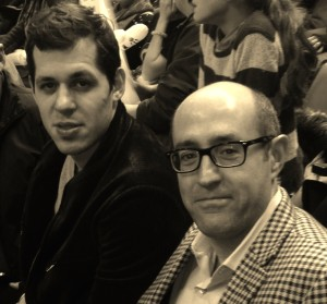 Jay Rosenzweig with Evgeni Malkin