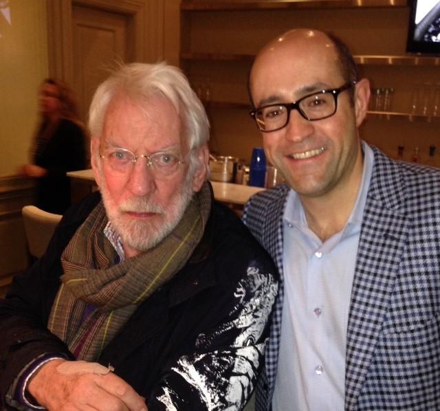 Jay Rosenzweig & Donald Sutherland
