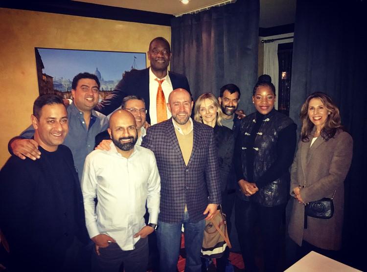 Jay Rosenzweig, Dinner with Roger Chabra, Sheetal Jaitly, Farhan Thawar, Salim Teja, Dikembe Mutombo, Kirstine Stewart, Zaib Shaikh, Rose Mutombo, Renee Rosenzweig.jpg
