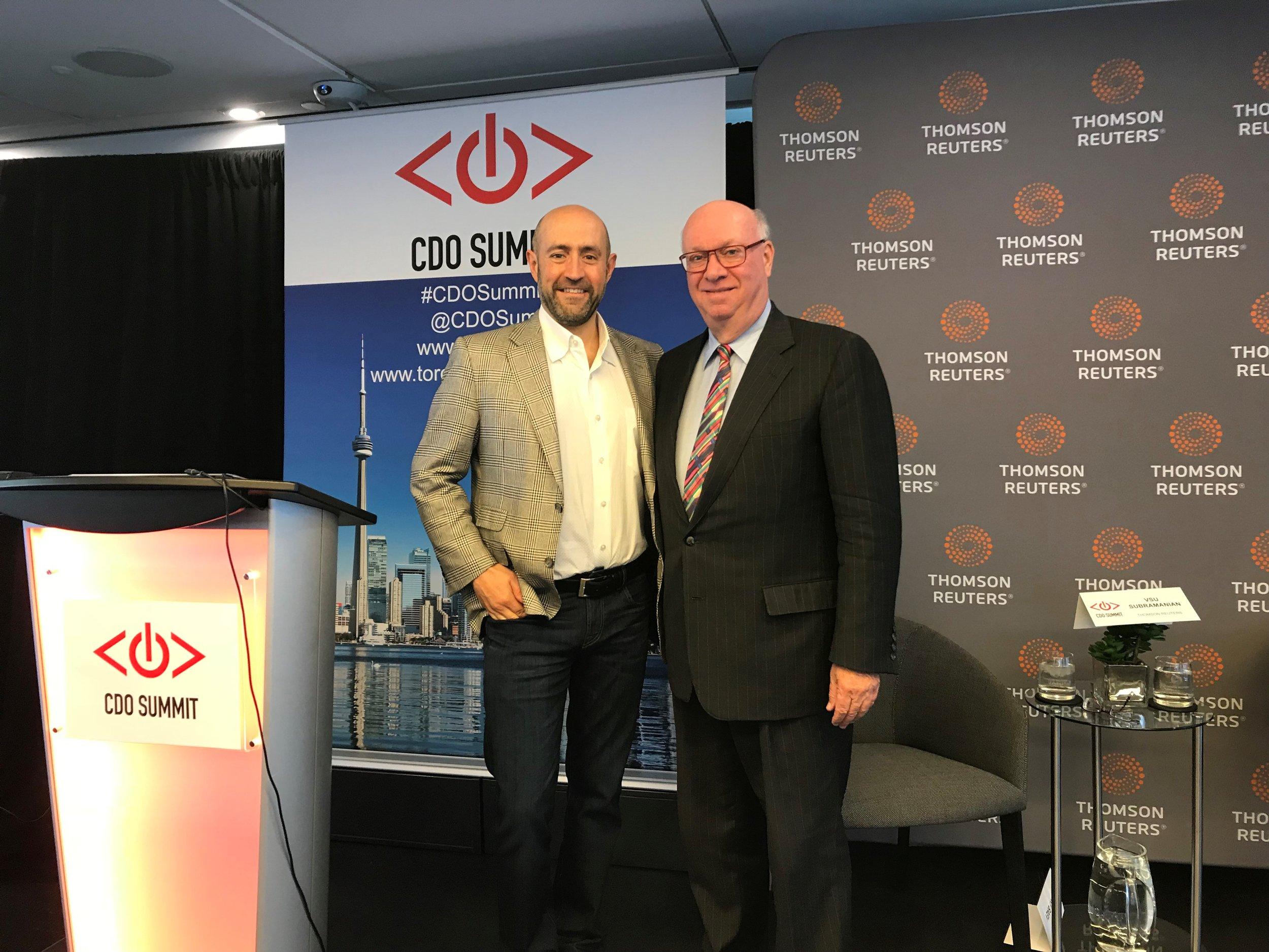 20171221 Jay Rosenzweig with Partner Robert Waite at Groundbreaking CDO Summit.jpg