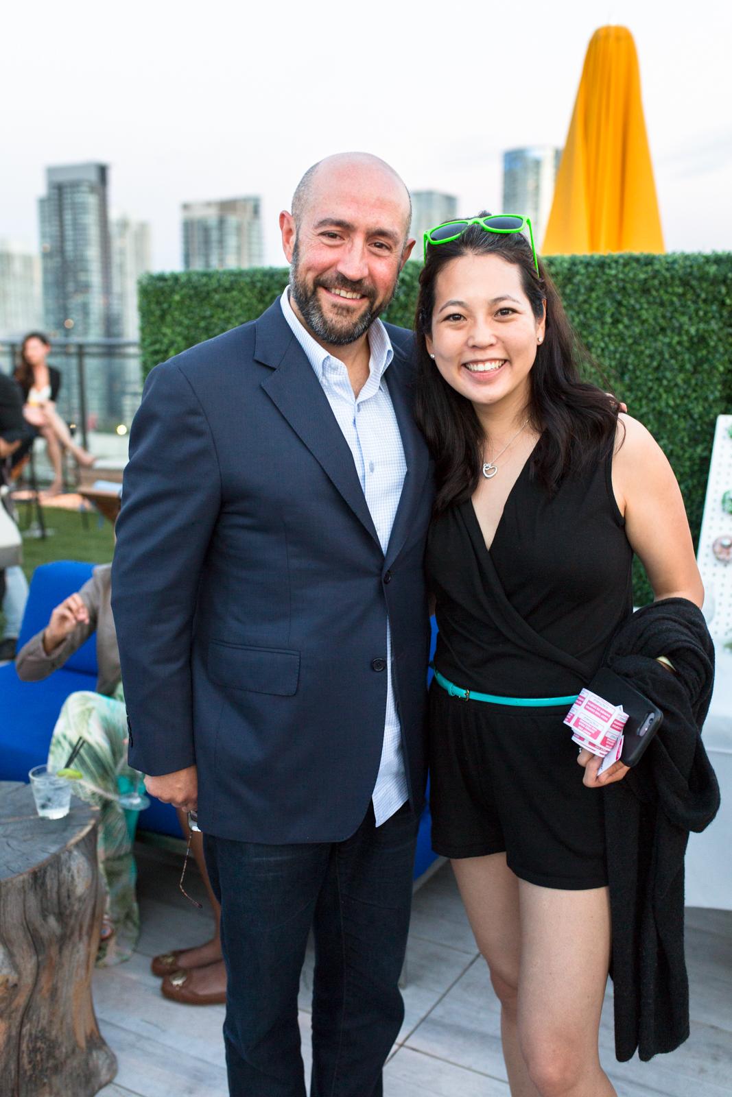 20170820 Jay Rosenzweig & Esther Park, Head of Marketing and Community, Drop Loyalty Inc.jpg