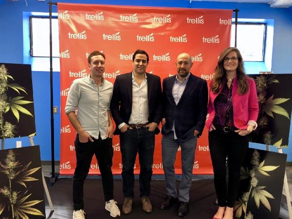 Left to right: Alex Blumenstein, Matt Shalhoub, Jay Rosenzweig and Rachel Colic