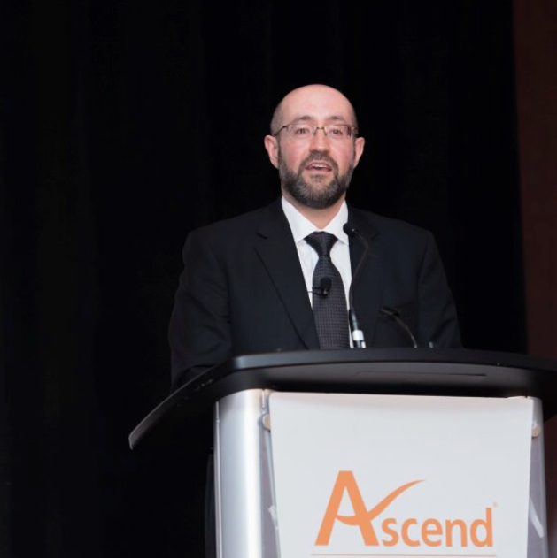 """Jay Rosenzweig at the Ascend Conference, Gala Dinner – """"Innovate To Differentiate"""" – September 2017 - Toronto"""