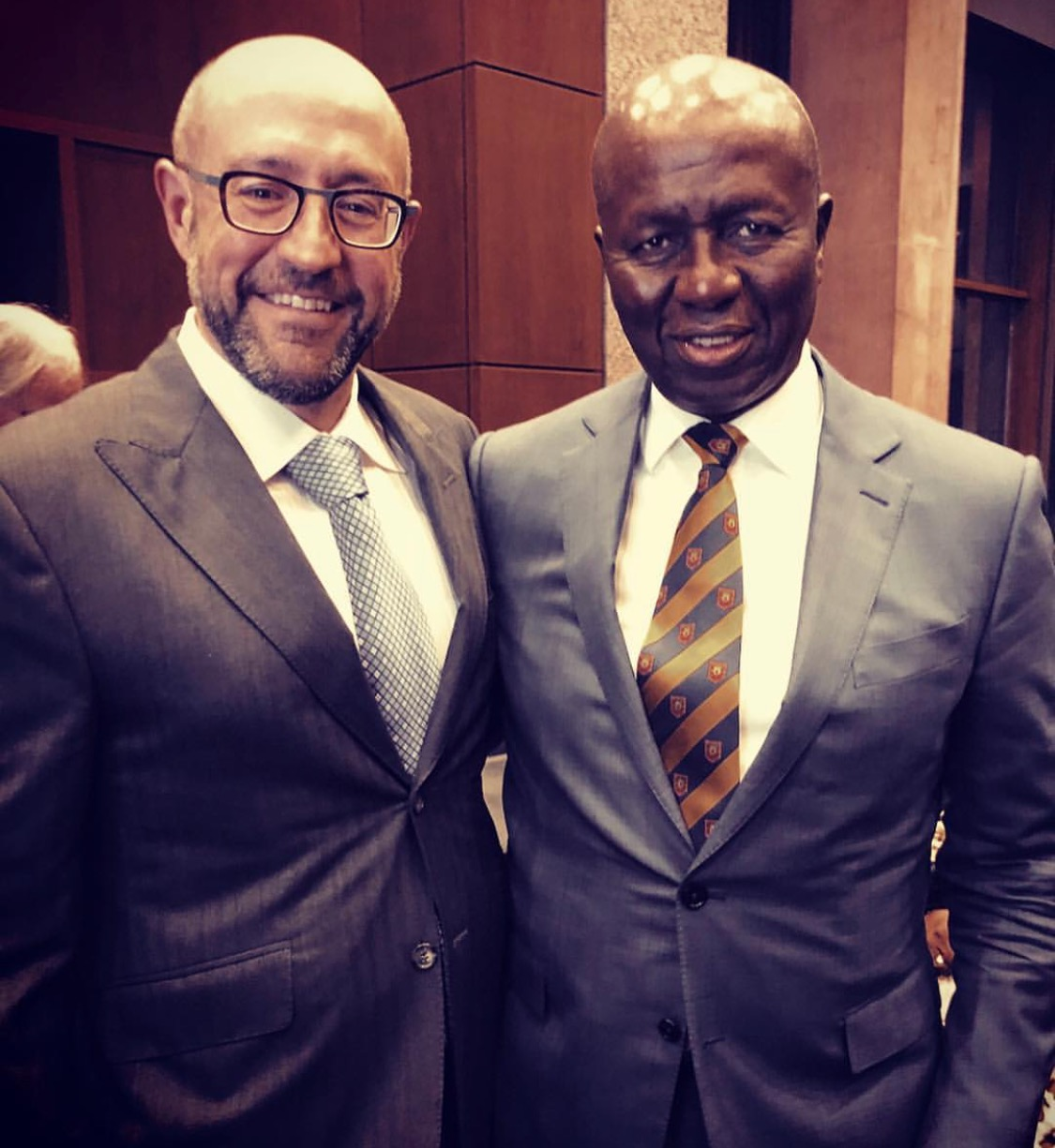 20190205-Jay Rosenzweig With Justice Dikgang Moseneke, former Deputy Chief Justice of South Africa, and cellmate of Nelson Mandela..jpeg