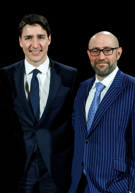 RCI - Justin Trudeau, Prime Minister of Canada, & Jay Rosenzweig 20190211.JPG