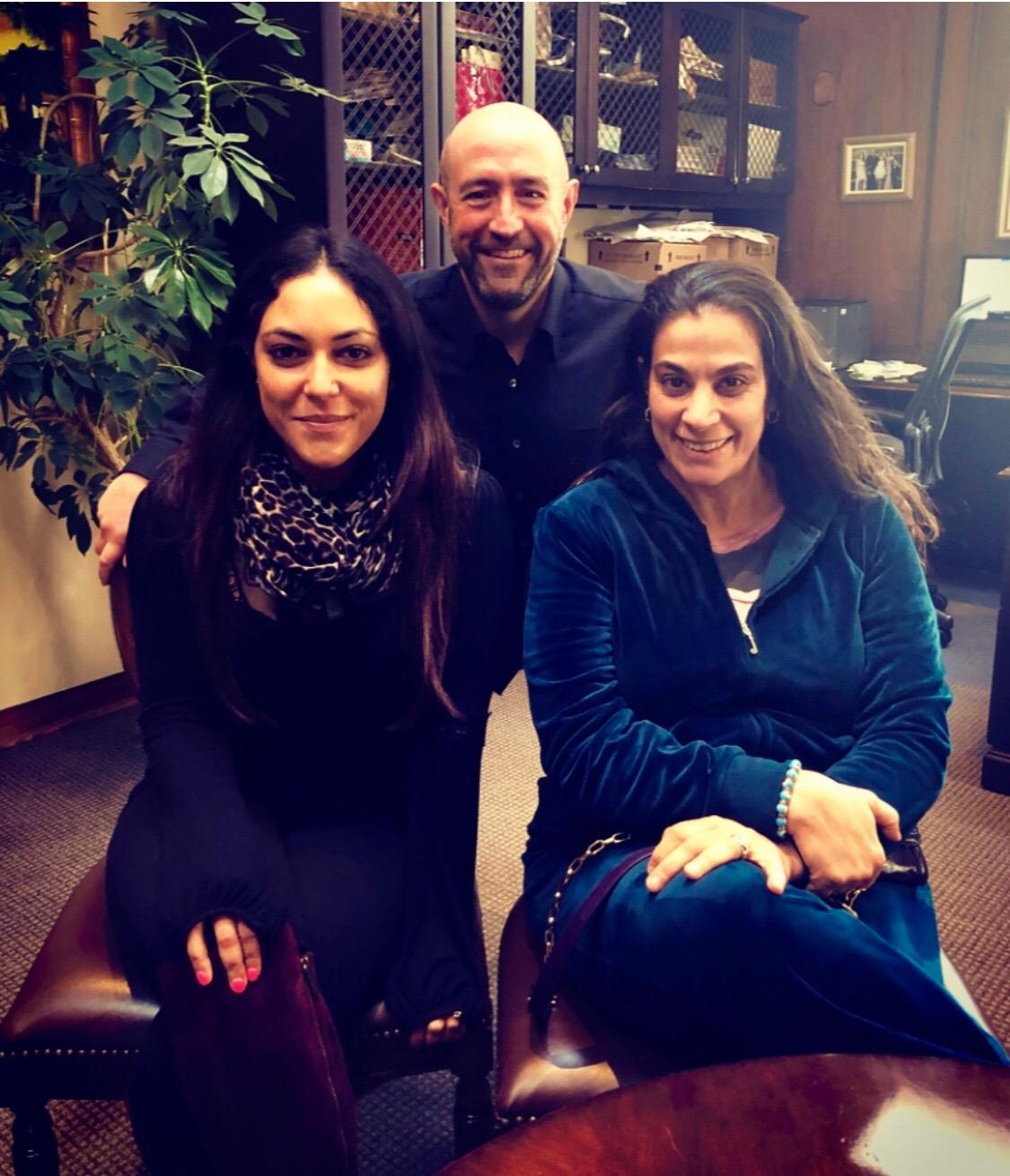RCI Salma Hassouna, Jay Rosenzweig, & Maysoon Zayid at the offices of Rosenzweig & Company 20190320.jpeg