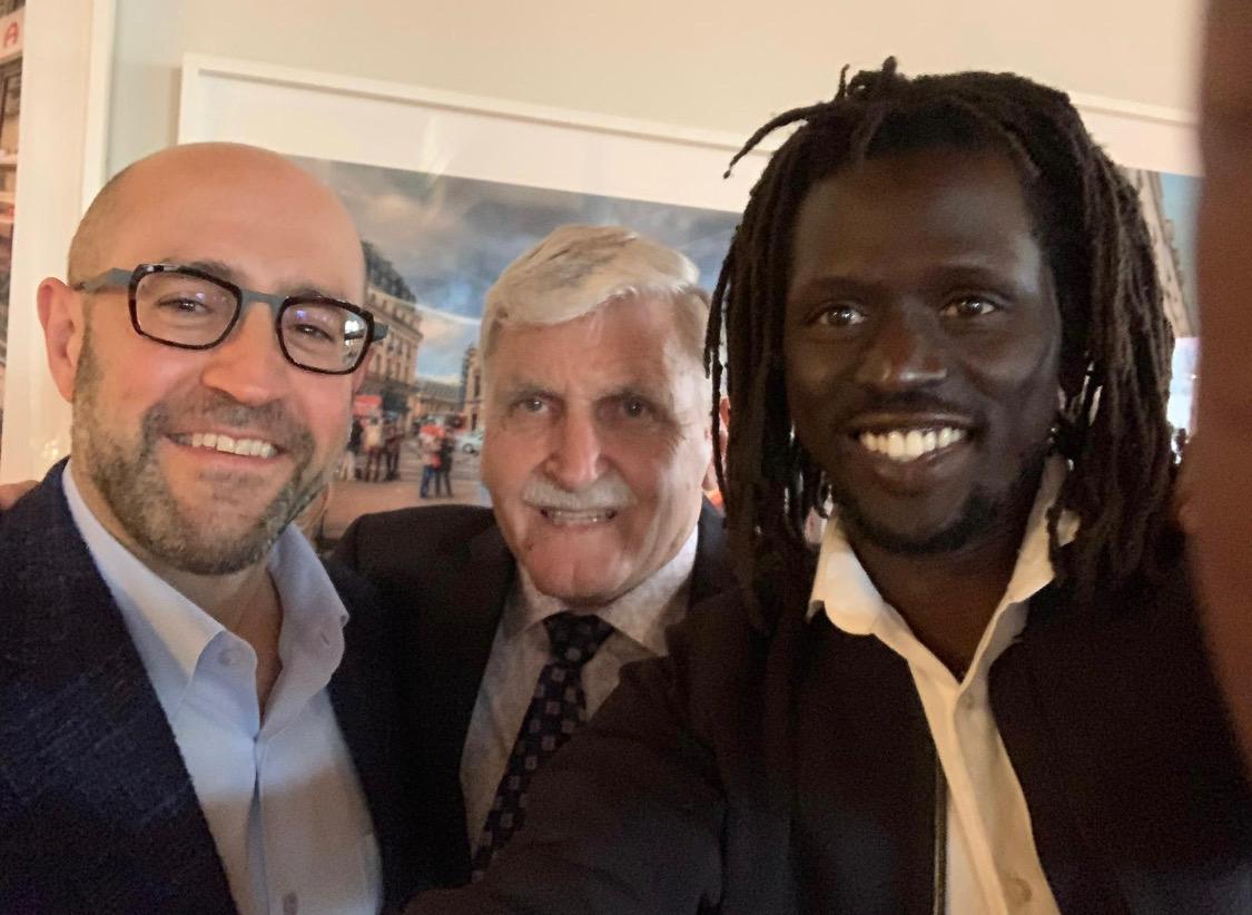 Jay Rosenzweig, Romeo Dallaire, Emmanuel Jal 20190512.jpeg