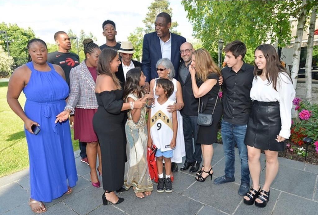 RCI - Jay Rosenzweig, Dikembe Mutombo, Navin Chandaria & Families 2- 20190715.jpg
