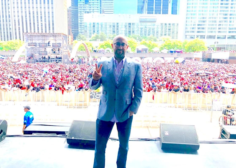 RCI - Jay Rosenzweig at Ceremony Celebrating Toronto Raptors Championship 20190715.jpg