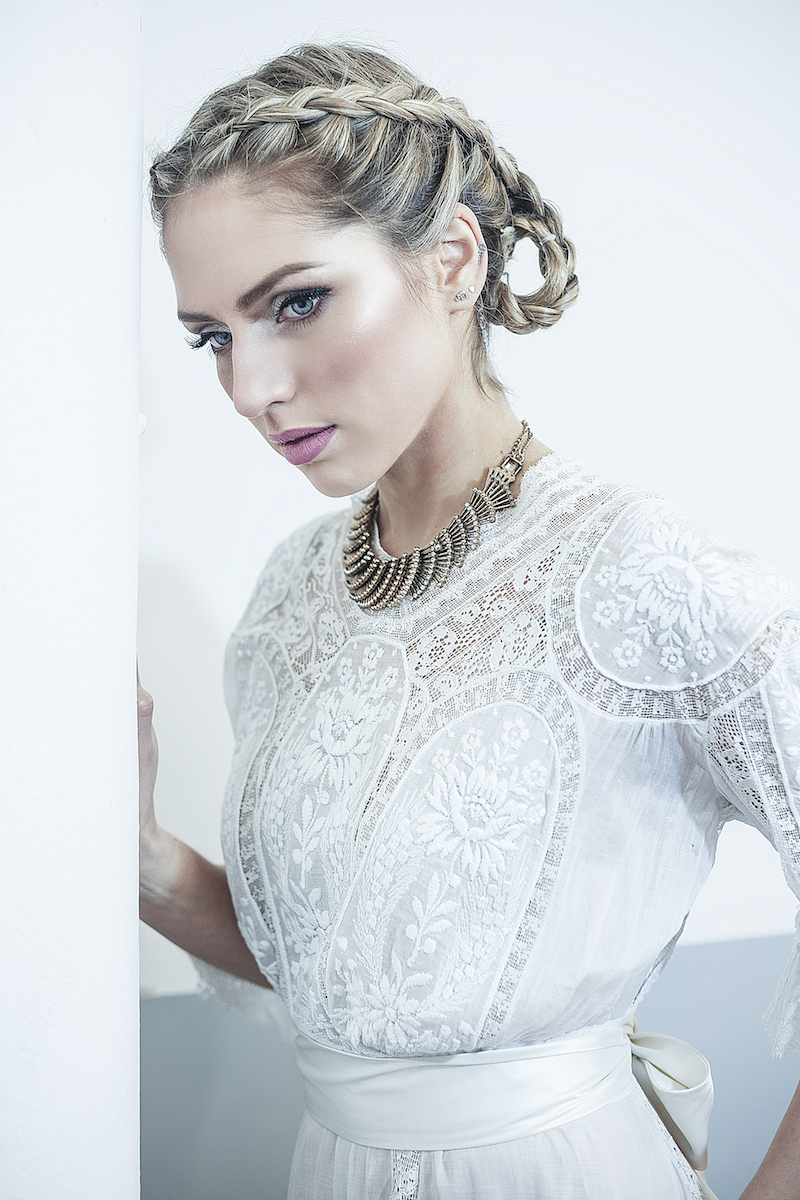LOUISA - Edwardian lace vintage gown available from Archive 12