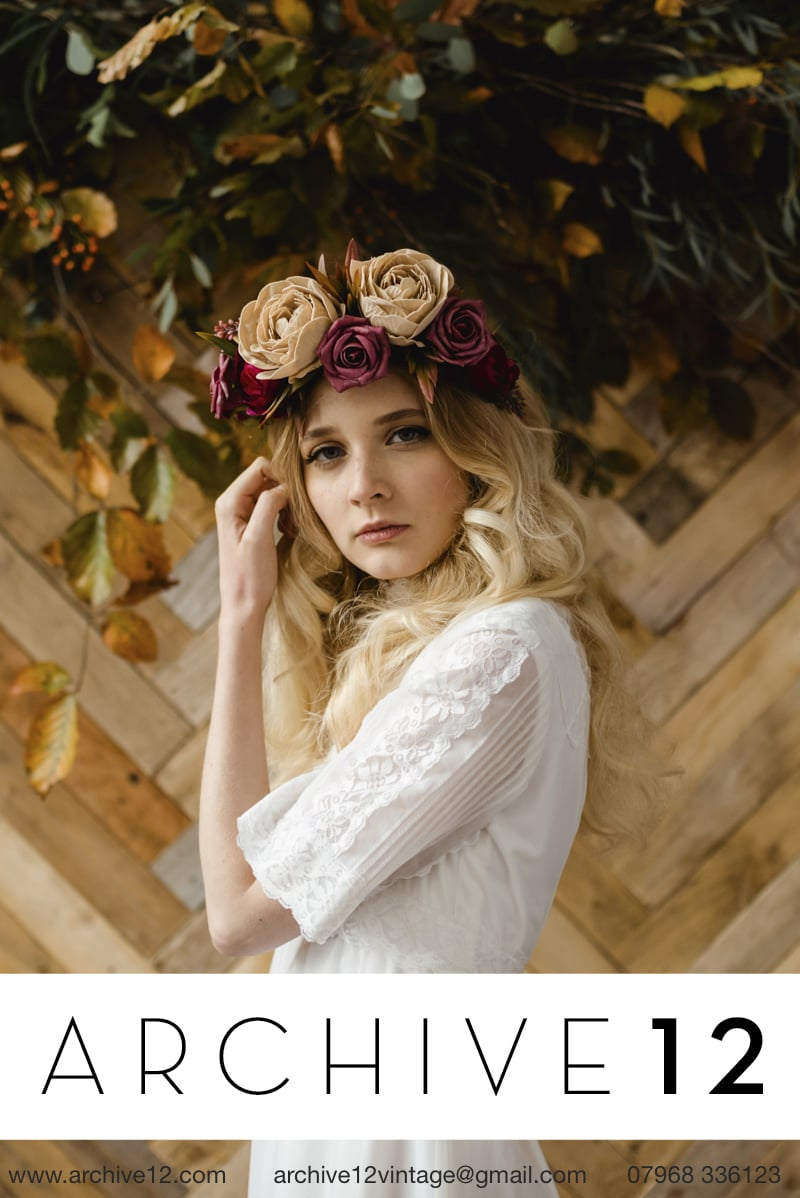 The ANAIS crown, available to order online. Photo credit: The Lous Photography.