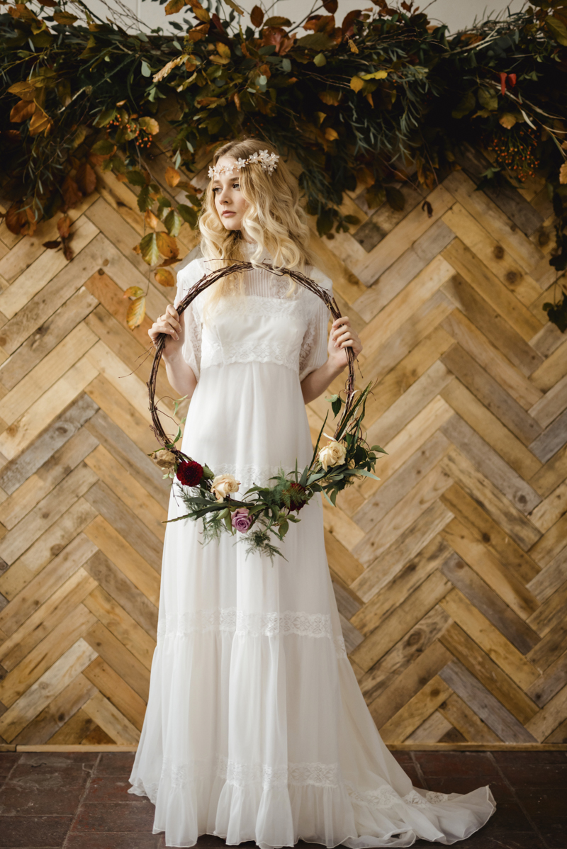 Vintage wedding dresses ireland, bohemian boho alternative vintage bridal