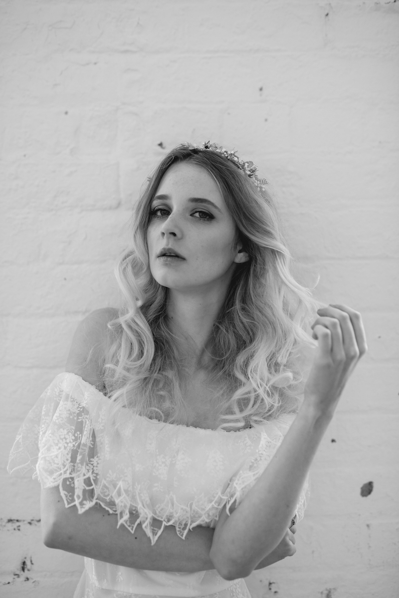 cool alternative vintage bridal from Archive 12 - bohemian boho wedding dresses ireland
