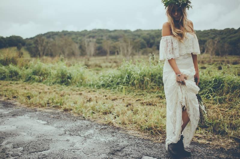 boho wedding dress ireland