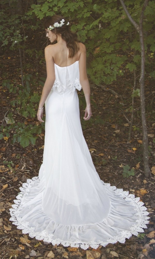 DAUGHTERS OF SIMONE BOHO GOWN