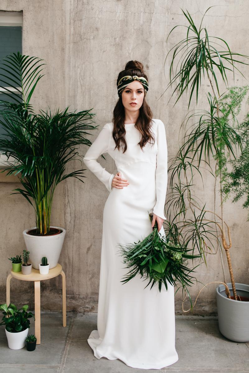 Archive 12 look book - botanical green wedding inspiration