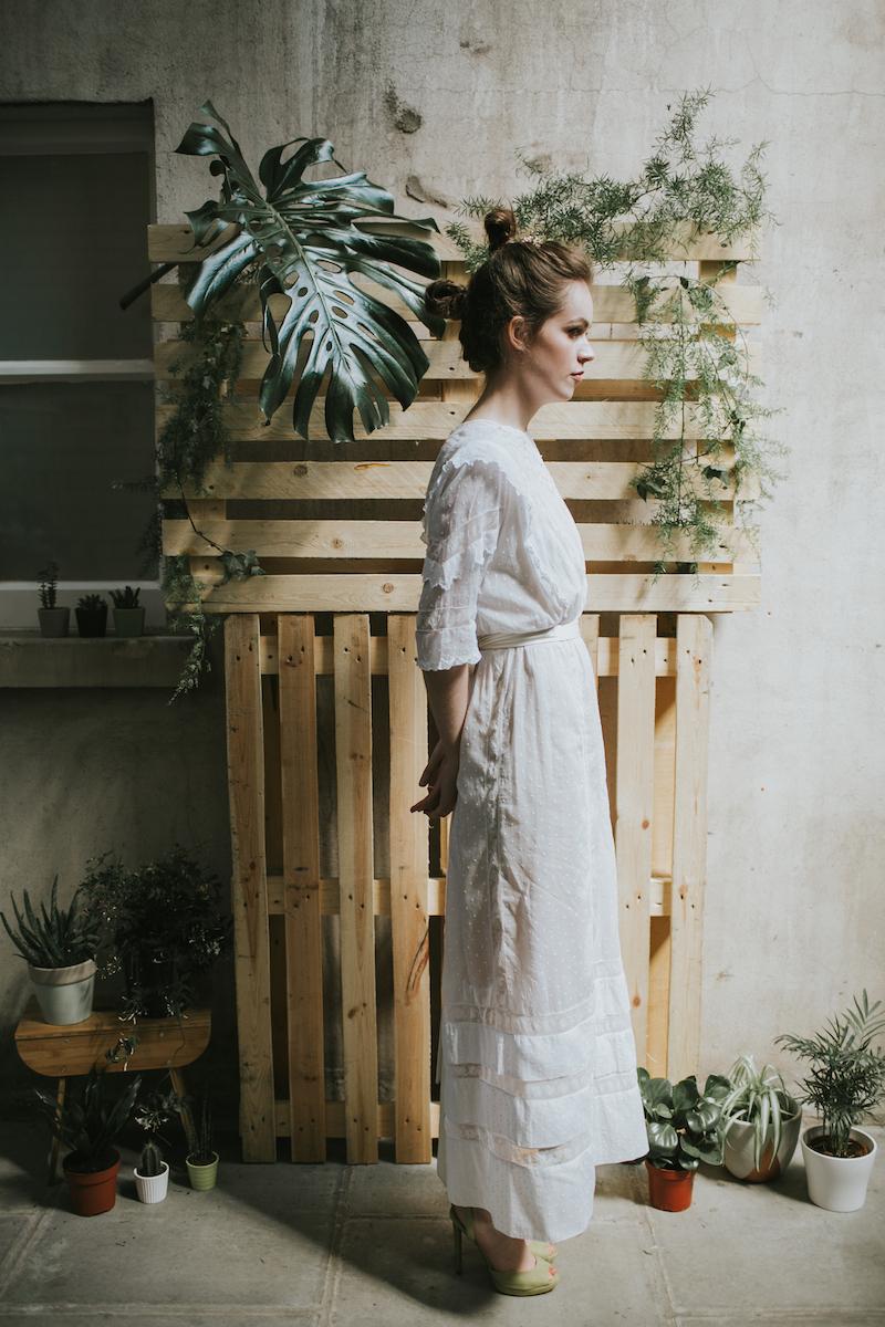 edwardian wedding dress - bohemian vintage bridal at archive 12