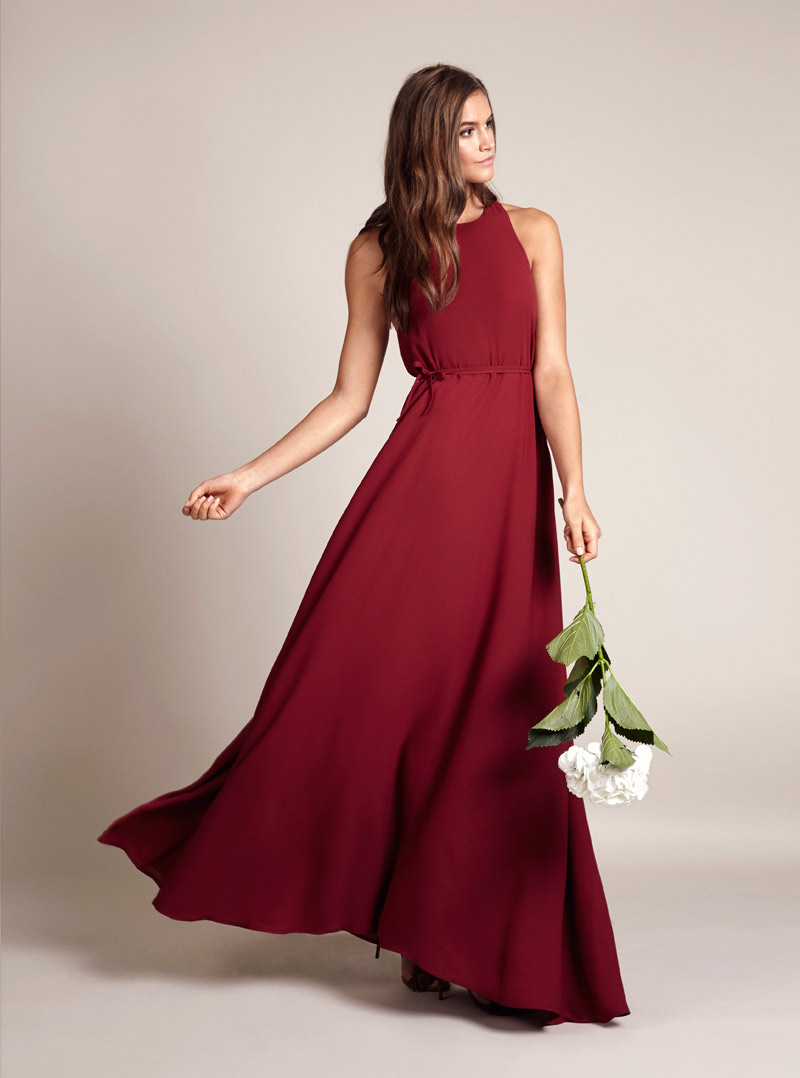 red bridesmaid dress - archive 12 belfast