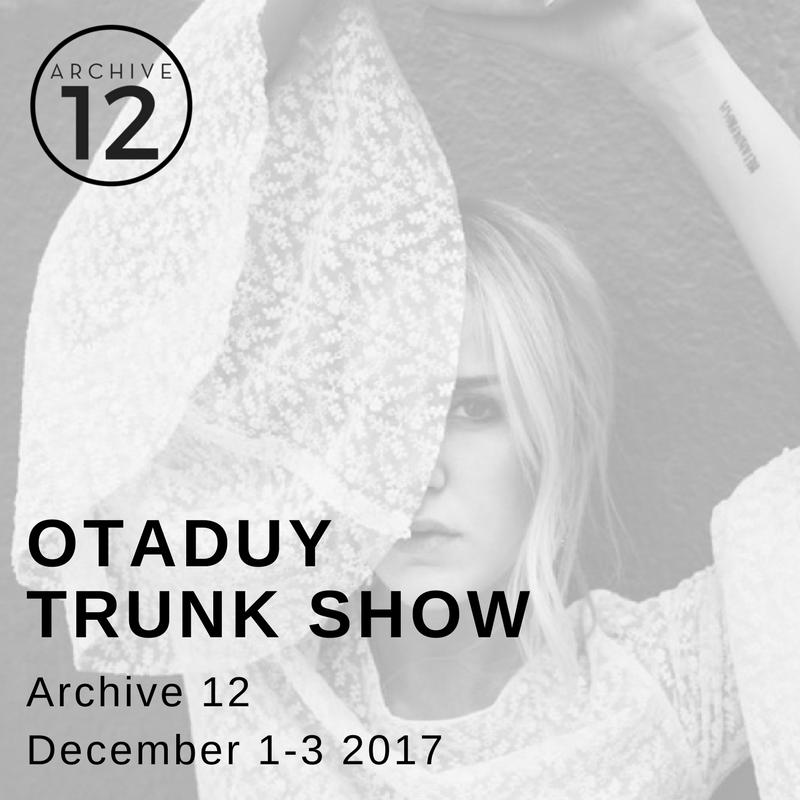 otaduy trunk show belfast