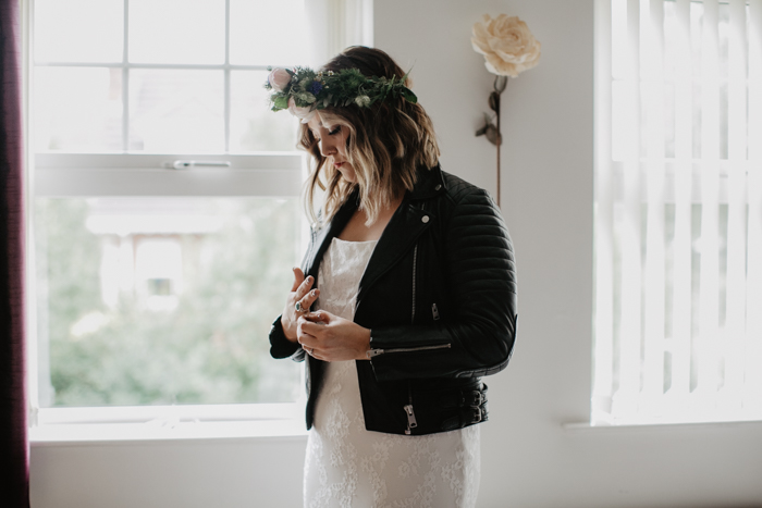 bride in a leather jacket - archive 12