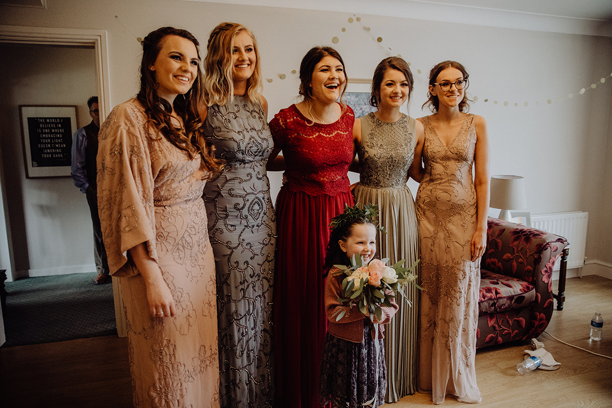 modern Irish wedding