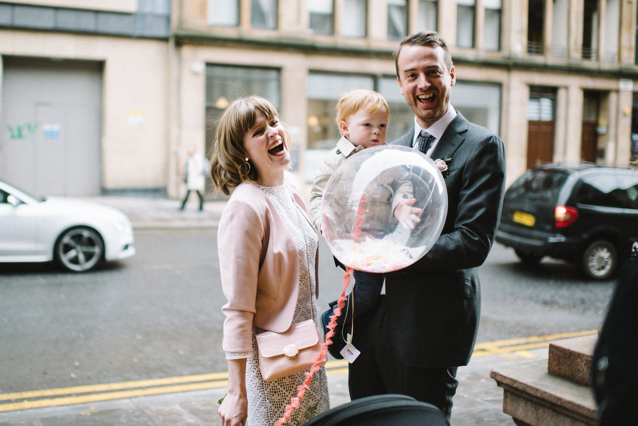Intimate city elopement