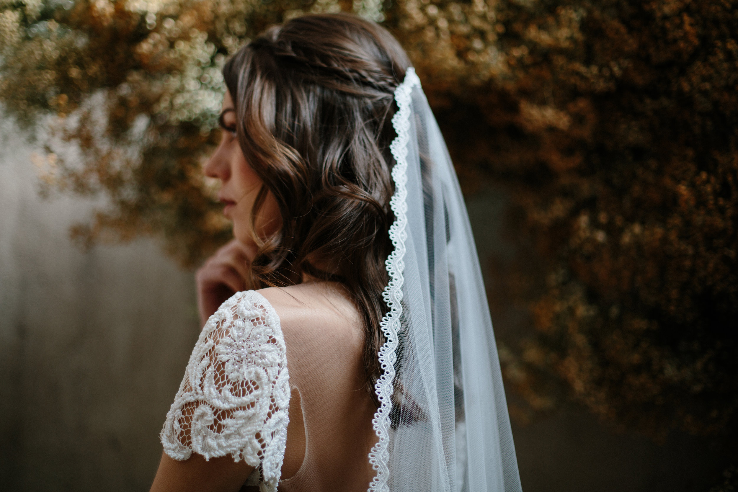 Alexandra veil by Blue Meadow bride