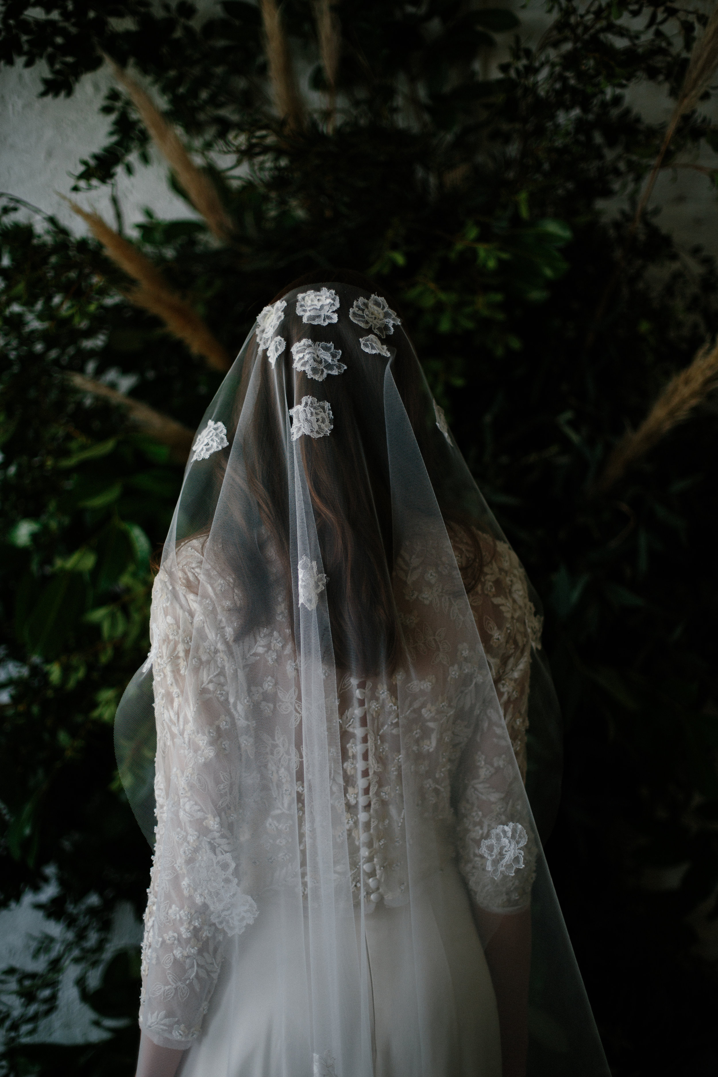 Modern bridal veils at Archive 12