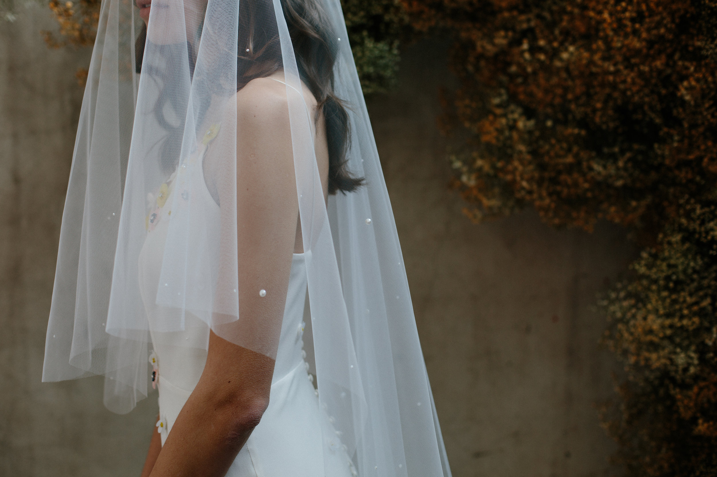 Pippa veil by  Blue Meadow Bridal
