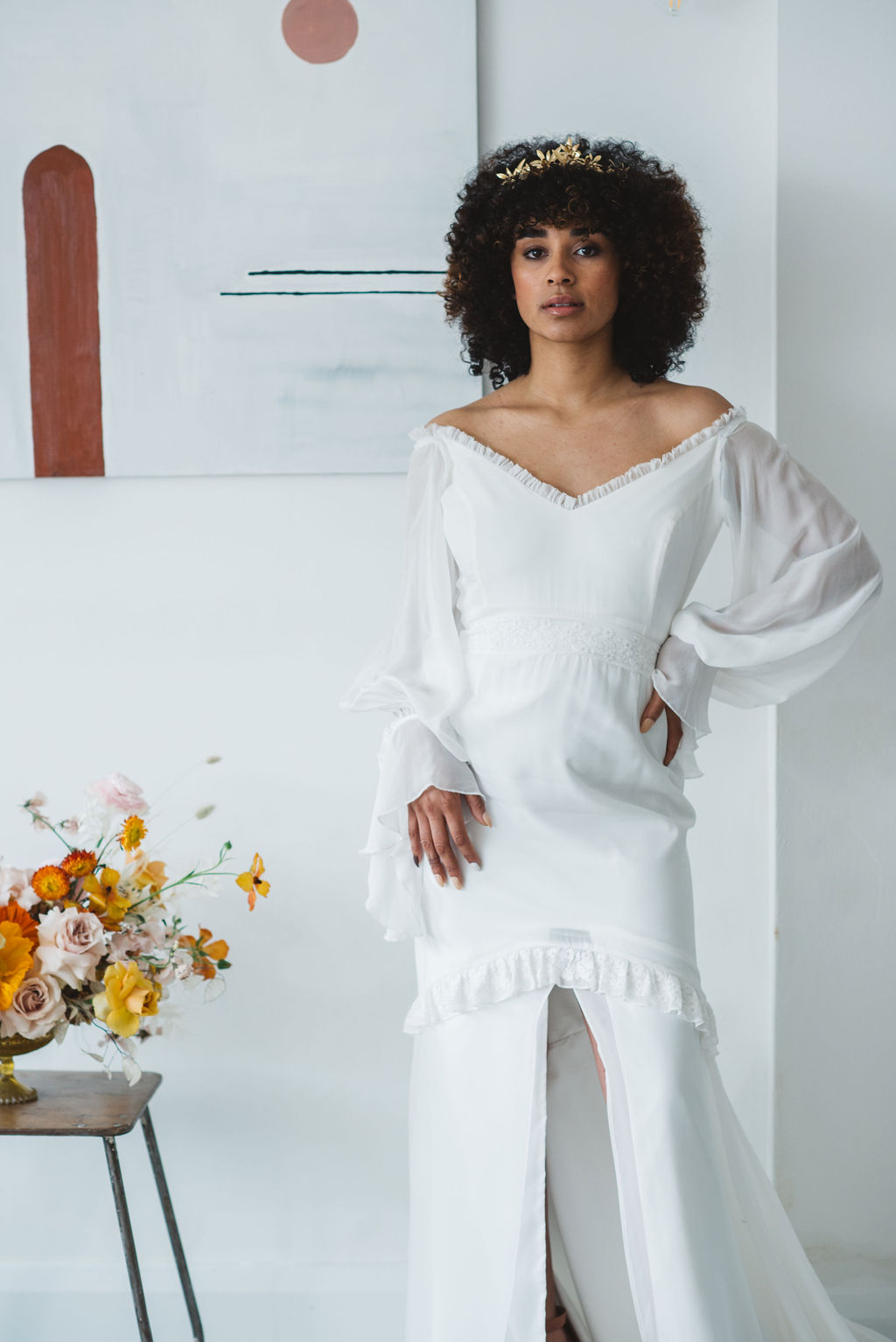 Daughters of Simone ASH dress - ARCHIVE 12 LOOK BOOK